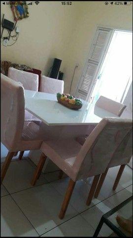 Conjunto LUXUOSOS de mesa e cadeiras diretamente da fábrica ótima QUALIDADE! * - Foto 3