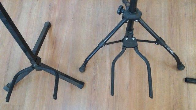 Suporte de chão para instrumentos musicais  - Foto 2