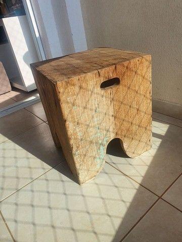 Vende-se banco/banqueta madeira rústica.  - Foto 2