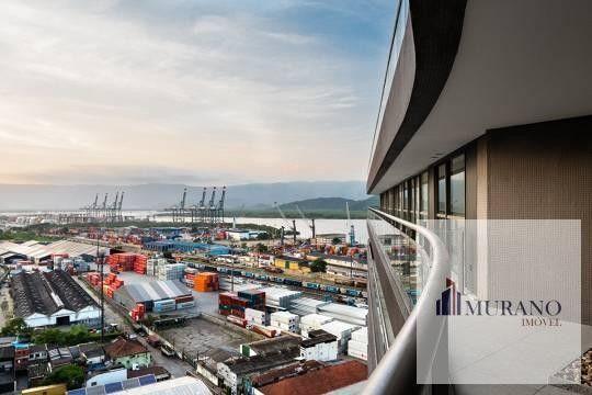 Sala/Conjunto para venda com 42 metros quadrados em Valongo - Santos - SP