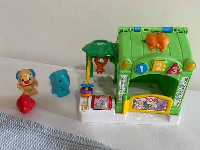 Zoológico de atividades aprendendo a brincar Fisher Price  - Foto 2