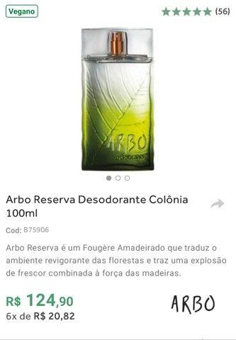 Perfumes ARBO'S (Ocean, Liberté ou Reserva) de O Boticário em Promoção - Foto 3