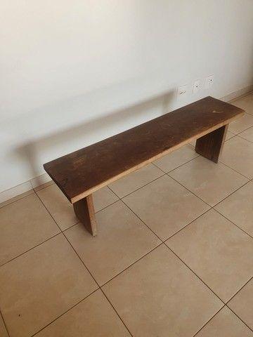 Vende-se banco madeira rústica. - Foto 4