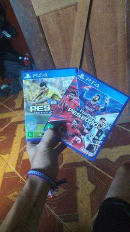Jogos Xbox 360 e PS4 mídia física e digital