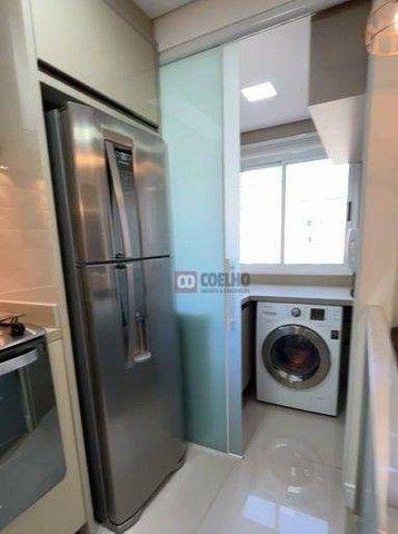Apartamento Luxuoso Totalmente Mobiliado, 2 Quartos com Suíte em Condomínio Clube - Bairro - Foto 4