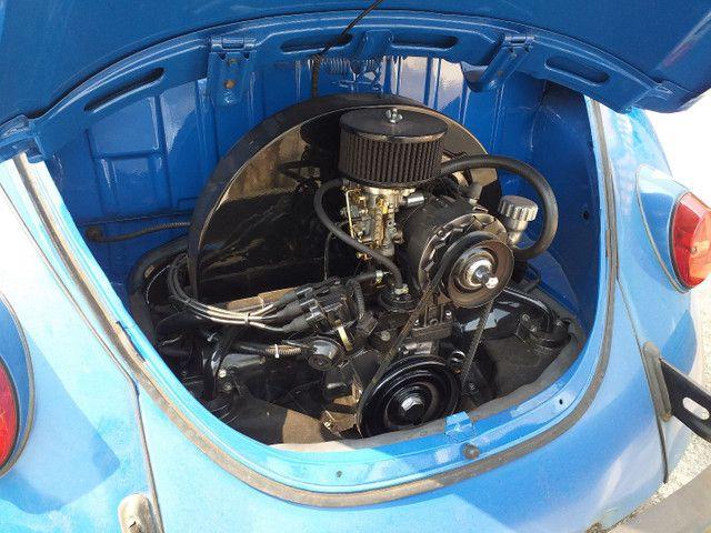 Fusca 73 motor 1300 super alinhado doc. em meu nome - Foto 13