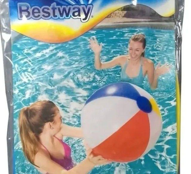 Bola de praia da Bestway Colorida 51cm 20´´ Bestway Piscinas