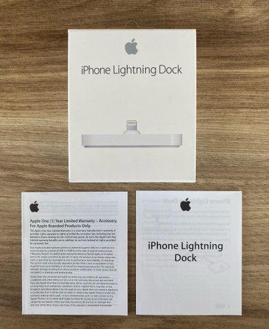 iPhone Lightning Dock Base Carregadora Original Apple - Foto 5