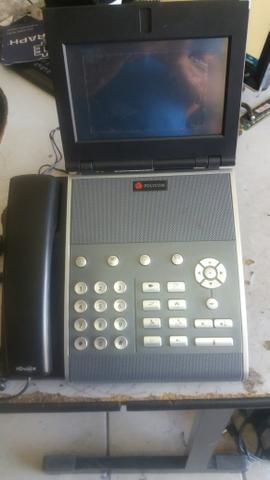 Video fone multimidia polycom vvx1500
