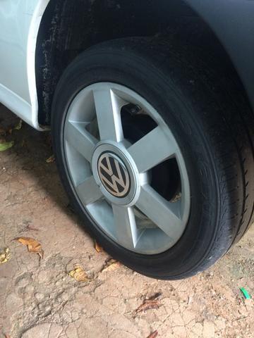 Roda audi com pneus 195/50