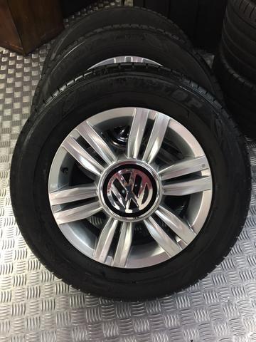 Rodas originais up! Aro 14 com pneus