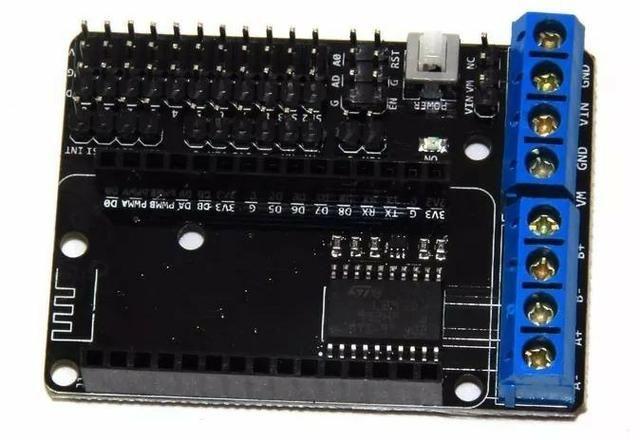COD-AM168 Shield Driver L293d Pra Nodemcu Wifi Esp8266 Esp12e Cp2102 Arduino Automação - Foto 2