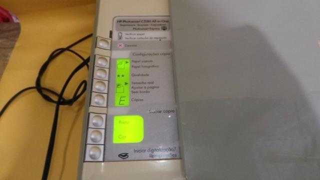 Impressora hp photosmart c 3180 scanner copiadora funcionando sem cartuchos! - Foto 6