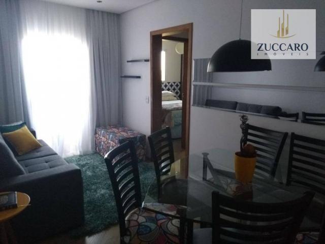 Apartamento com 2 dormitórios à venda, 54 m² por r$ 285.000,00 - vila sirena - guarulhos/s - Foto 7