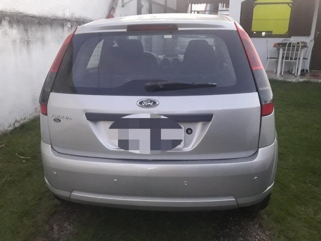 Fiesta SE 2014, 4 portas, completo com GNV, carro ideal para UBER - Foto 2