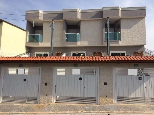 Sobrados novos Vila Ré com 3 dormitórios e 4 vagas cobertas