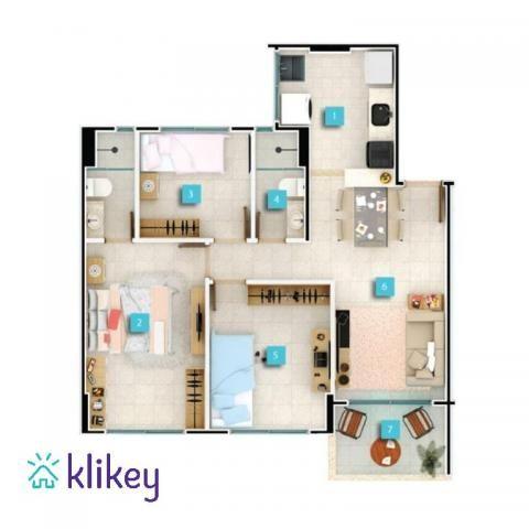 Apartamento à venda com 3 dormitórios em Passaré, Fortaleza cod:7995 - Foto 13