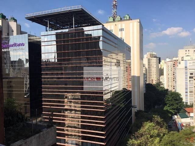 Apartamento com 1 dormitório para alugar, 35 m² por r$ 2.000/mês - bela vista - são paulo/ - Foto 10