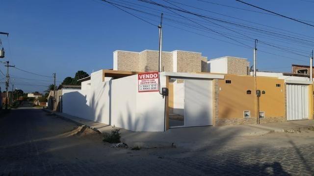 Casa de Esquina com Escritura Grátis, 02 Quartos, 02 Wc, Garagem e Quintal - Foto 7