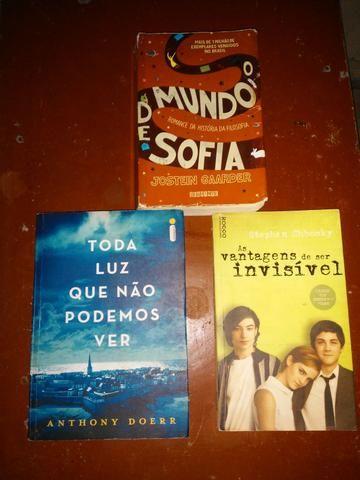 Kit com 3 livros Incríveis