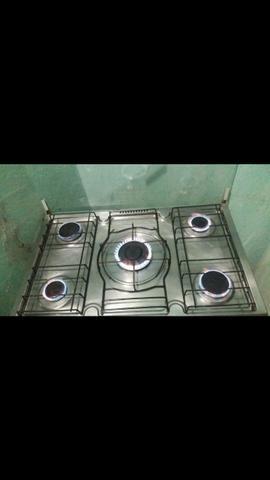 Vendo fogão de 5 boca em perfeito estado - Foto 4