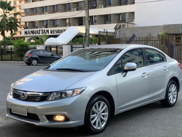 Honda Civic LXR 2.0 Aut. 2014 Único dono C/Todas as revisões feitas na concessionária - Foto 3