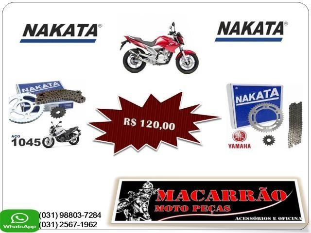 Kit Relacao Fazer 250 Aco 1045 - Nakata