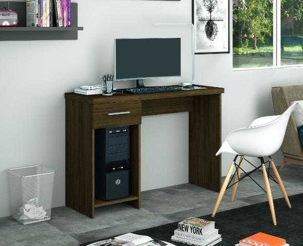 Mesa escrivaninha office Touch com gaveta = Entrega grátis!! - Foto 2