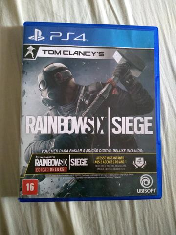 Vendo ou troco rainbow six siege