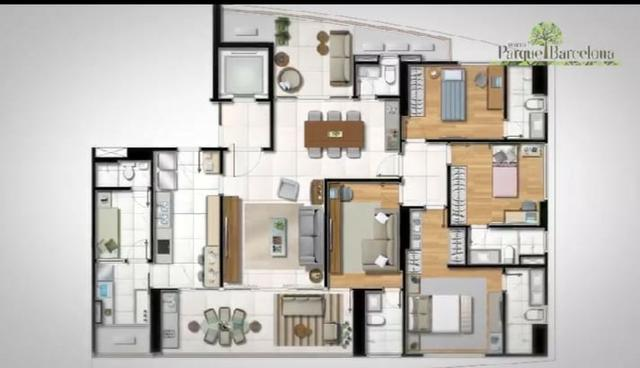 Apartamento 4 quartos Horto Florestal - Parque Barcelona - Foto 5