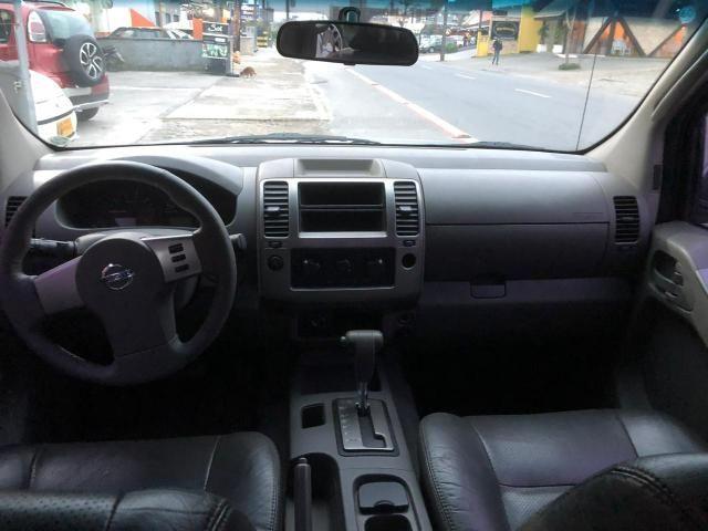Frontier 4x4 automática diesel manutenção toda em dia carro fino trato - Foto 3