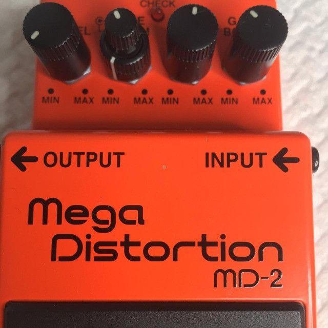 Pedal Boss Md2 Mega Distortion - Foto 3