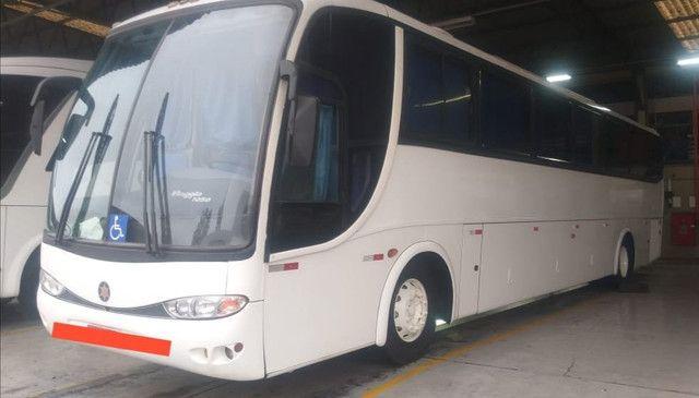 Ônibus G6 1050 Com Ar Leito Cama MB 0400 360cv Ideal P Banda - Foto 3