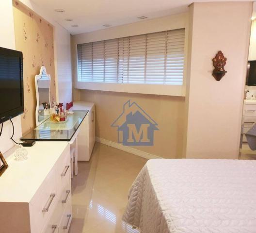 Lindo Apartamento Semimobiliado, 2 Suítes e 1 Quarto, Sacada Gourmet, no Centro! - Foto 10