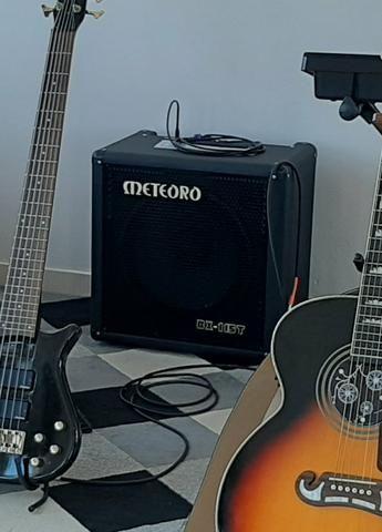 Amplificador Cubo De Contra Baixo Meteoro Ultrabass BX200 - Foto 5
