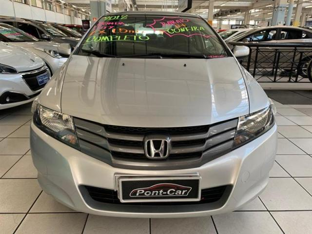 Honda City Lx Flex 1.5 2012 Novo D+