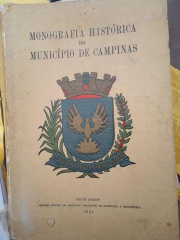 Livro Monografia Histórica do Município de Campinas - Foto 3