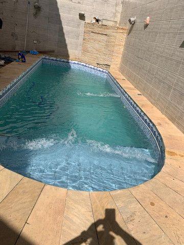 Vendo excelente casa de 3 quartos com piscina em condomínio fechado no Fundão - Foto 19