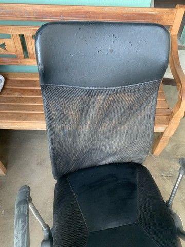 Cadeira de escritório, cadeira presidente  - Foto 6