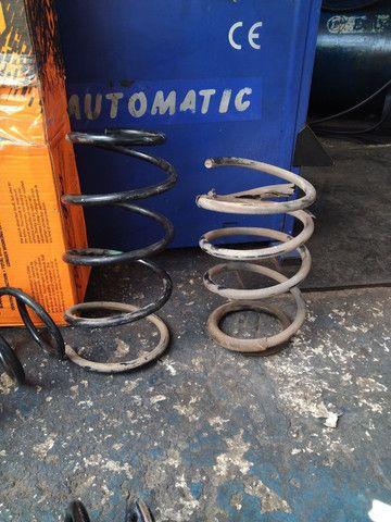 Rodas aro 19 5 furos, amortecedores e molas  - Foto 7