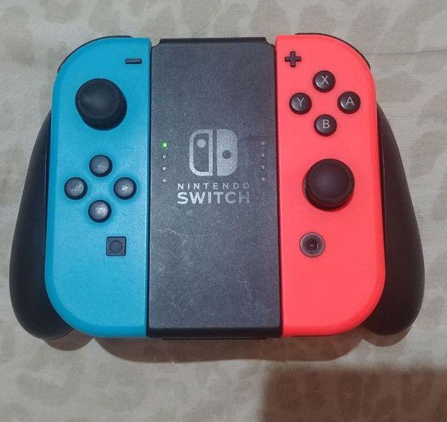 Nintendo Switch Neon Desbloqueado - Foto 4