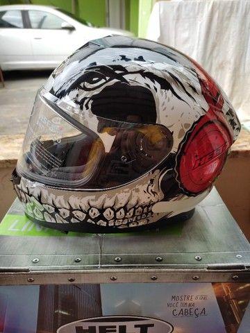 capacete moto helt dj skull tamanho 61 (xl) - Foto 7