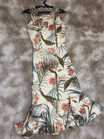 Vestido Midi - Estampado