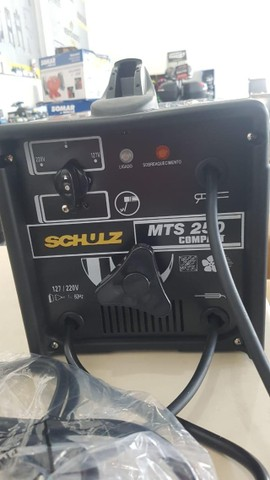 Máquina De Solda Profissional 250a Mts250 Schulz Bivolt - Foto 6
