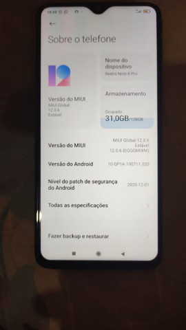 Xiaomi Note 8 Pró 128 GB - Foto 2