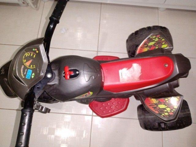 Mini Moto Elétrica - XT3 Grafite 6V - Bandeirante
