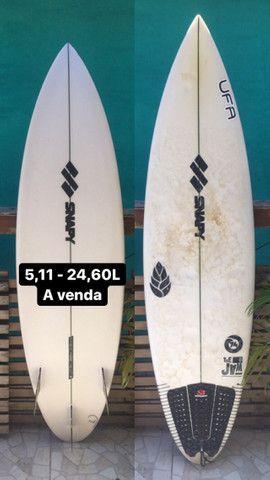 Prancha de surf 5,7 - 25,40L e outra 5,11 - 24,60L (Leia a descrição!!!) - Foto 2