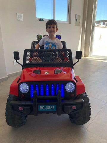 Carrinho elétrico Infantil com controle. 12V - Foto 2