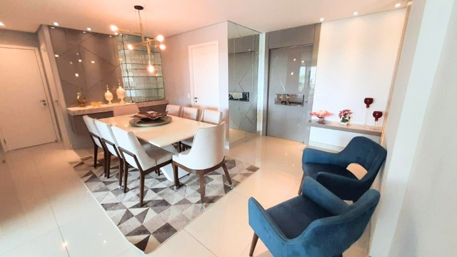 Apartamento Bosque das Flores,142 m²,Luciano Cavalcante - Foto 3
