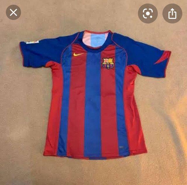 Camisa original do barcelona Ronaldinho gaucho